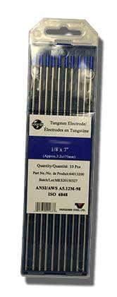 Vanguard Tungsten 2% lanthanated Blue