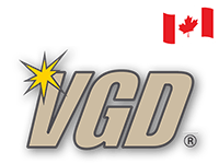 VGD Brand with canada flag